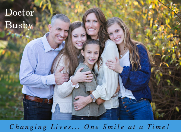 Doctor Busby and his family